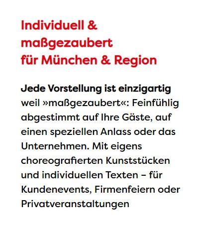 Magier für  Bayern, Würzburg, Schweinfurt, Passau, Bayreuth, Bamberg oder Fürth, Erlangen, Regensburg