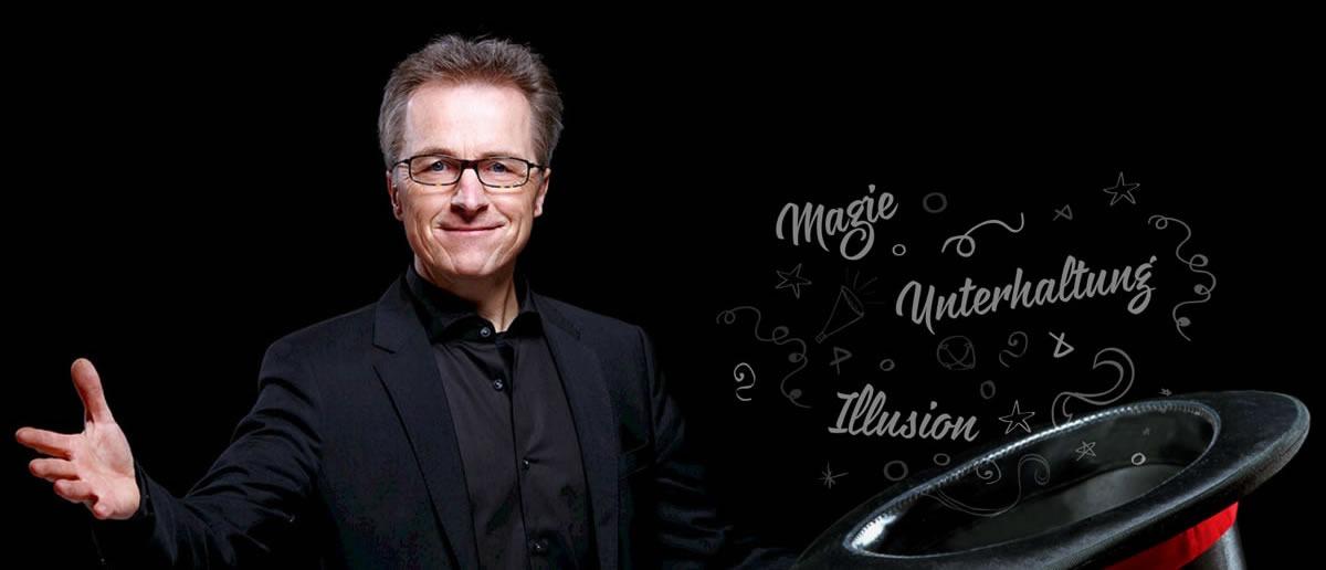 Zauberer Augsburg | 🥇 Werner Link ➤ Zaubershow, ✓ Zauberei